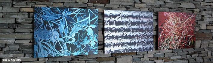 Aluminium fototrykk