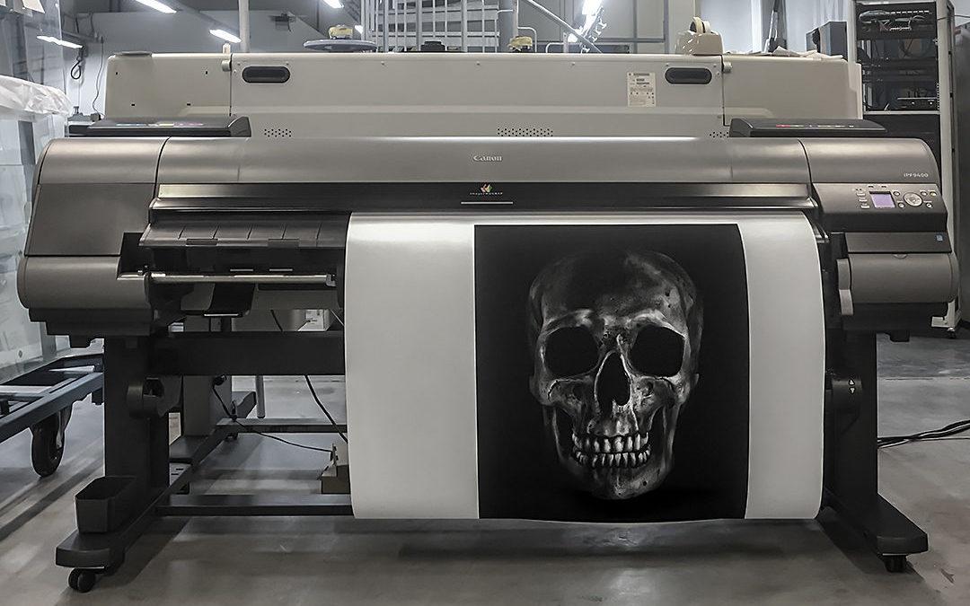 Vi kan giclée print!